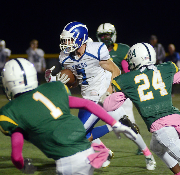 Princeton` Steve Hennessey(7)carries the ball against West Windsor-Plainsboro South. gregg slaboda photo