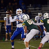 Princeton QB Jake Renda throws a pass against West Windsor-Plainsboro South.  gregg slaboda photo