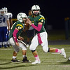 West Windsor-Plainsboro South QB Max Bruno looks for a reciever against Princeton. gregg slaboda photo