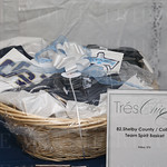This Shelby County / Collins team basket was a silent auction item.