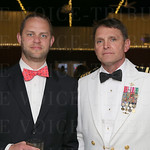 Nathan Poole and Captain Ed Gallrein US Navy, retired.