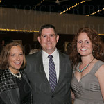 Chief Development Officer for Norton Healthcare and System VP of Women's and Children's Community Partnerships Lynnie Meyer, Josh and Michelle Honaker.