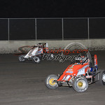 Non-Wing Sprints : Photos of Non-Wing Sprint Cars at Tri-City Speedway's Gold Crown Midget Nationals on October 6th, 2011.
