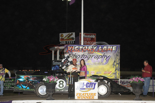 ... Dave Armstrong & Jacob Rexing go to victory lane at Tri-City Speedway