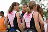 I like this one. Different than my typical shot. These are Tri-Girls right before the start.