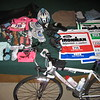 Webmaster Mary's gear and supplies for the Ironman
