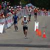 Mary finishing