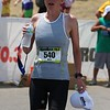 Mary done!  She did awesome.  About 5.5 hours to cover the 70.3 total miles
