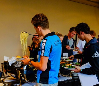 Athletes Briefing, Dinner, Press Conference
