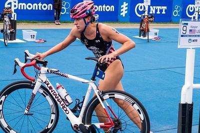 ITU Triathlon Edmonton 2016: Elite Women
