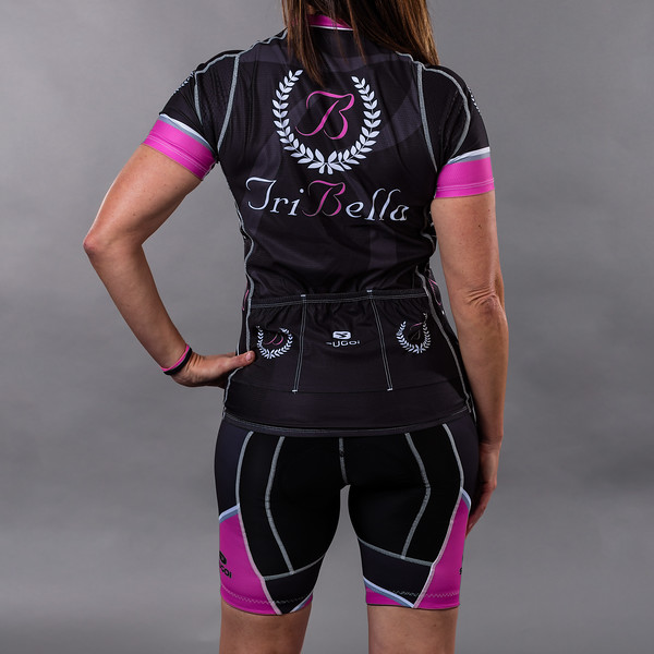 TriBellas-Sugoi-BlackCyclingKit-Back