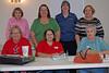 Laura Ortiz, Pat Deux, Cynthia Blossom, Barbara Woytek back row<br /> Pat Eppes, Catherine Flowers, Linda Densmen