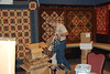 The Square Quilter booth set up