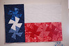 Carol Greklek created this from the Twister Template<br /> She used the Texas Shop Hop fabrics