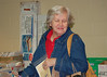 Caught June Jaronitsky shopping for bargins