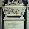 "Andre's permanent tomb and monument at Westminster Abbey in London, England. The monument was erected in 1782, and the inscription reads:<br /> ""Sacred to the memory of MAJOR JOHN ANDRE,<br />  who, raised by his Merit, at an early Period of his Life, to the Rank of <br />  Adjutant-General of the British Forces In America,<br />  and, employed in an important but hazardous Enterprise,<br />  Fell a Sacrifice to his Zeal for his King and Country,<br />  on the 2nd of October, 1780, aged 29, Universally beloved and esteemed by the Army in which he served, and lamented even <br />  by his Foes. His gracious Sovereign King George III<br />  has caused this Monument to be erected.""<br /> <br /> And on the base, after his remains were reinterred in a grave contiguous to the monument:<br /> ""The remains of Major JOHN ANDRE were, on the 10th of August, 1821, removed from Tappan by JAMES BUCHANAN, Esq., his Majesty's Consul at New York, under instructions from his Royal Highness the DUKE OF YORK, and, with the permission of the Dean and Chapter, finally deposited in a grave contiguous to this monument on the 28th of November, 1821.""<br /> <br /> See this webpage for more info:  <a href=""http://www.silverwhistle.co.uk/lobsters/andre.html"">http://www.silverwhistle.co.uk/lobsters/andre.html</a>"