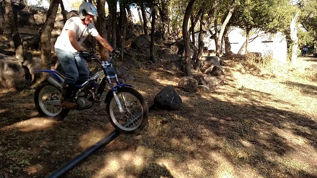 Video - Attempting Front Wheelie