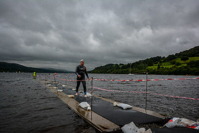 at Bala Standard Triathlon , Wales on 04/09/2016 by Dan Wyre Photography which can be found at Copyright 2016 Dan Wyre Photography, all rights reserved Man pulled from the sea.