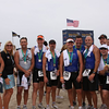 Coach Nancy Reno and her CVMM boyz at the Nautica Malibu Triathlon!<br /> Eric, Sacha, Steve, Robbie, Mike, Russell, Carl, and all!