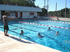 Our first workout at the Kalani High School pool