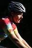 Sonya on the bike