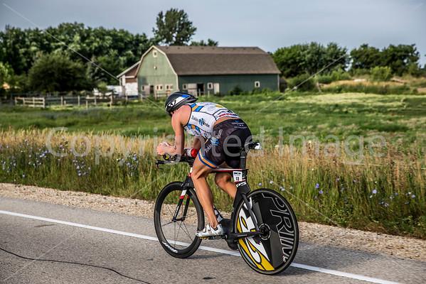 2013 Ironman Racine 70.3 on July 21, 2013 in Racine, Wisconsin.
