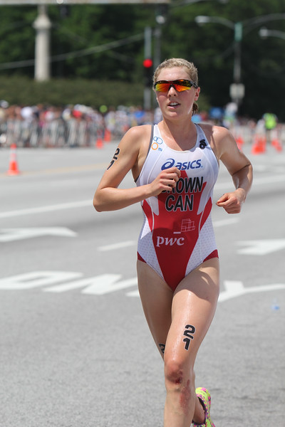 ITU World Triathlon Chicago 2014 Elite Women