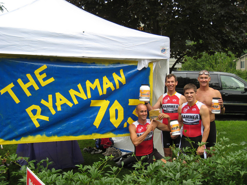 Hammer Nutrition fuels the Ryanman!