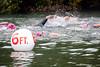 Swim start - lots of other bodies.