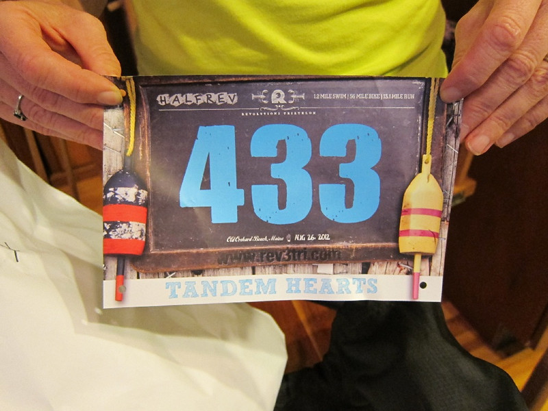 Rev 3 does a classy job. Even the runner numbers are fancy. That's right - this is a throw away number.