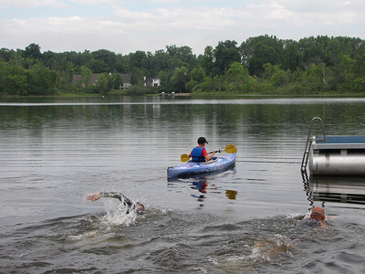 Off to the start raft
