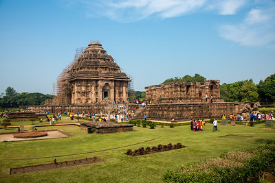 13th Century temple, Konark Sun Temple, UNESCO World Heritage Site.