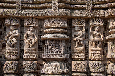 Infinite numbers of carved images.