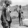 Mundari tribeswoman, Kworonit