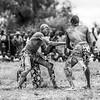 Making moves in Mundari wrestling