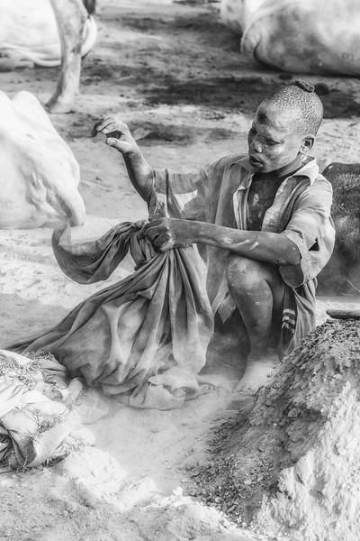 Immersion in ash, Terekeka