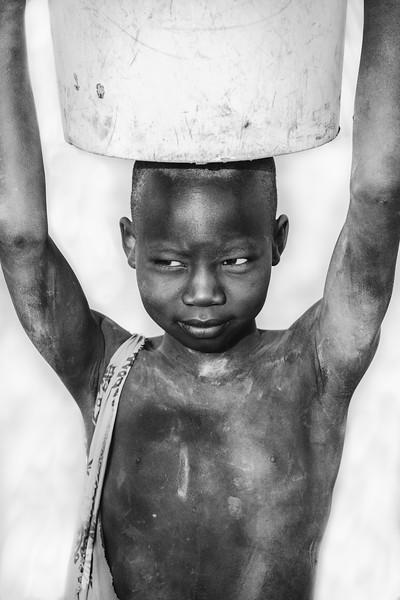 Young Mundari girl, Terekeka