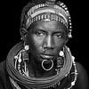 Topossa woman adorned, Kapoeta