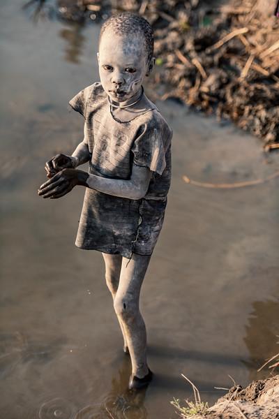 Little Mundari boy