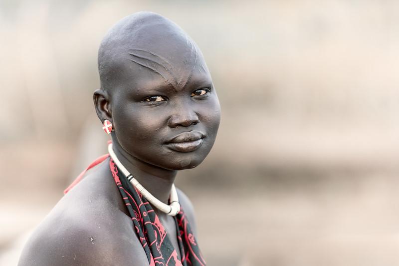 Mundari Woman