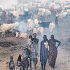 Mundari women and children