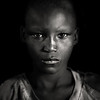 Portrait of a Dinka boy, Bor, South Sudan