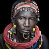 Topossa woman adorned