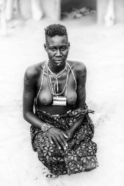 Boya tribal beauty