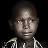 Topossa girl with scars