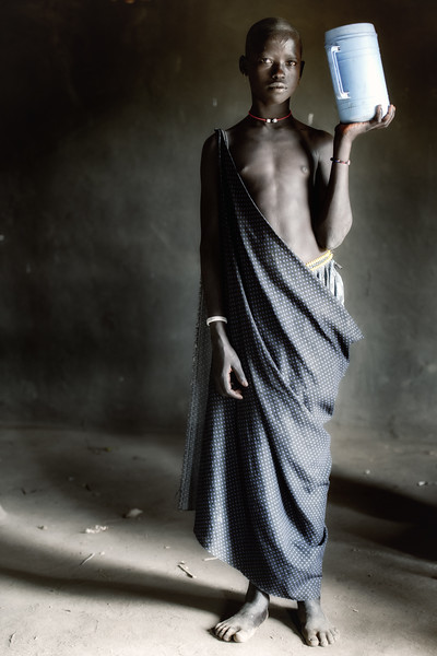 Model Mundari girl