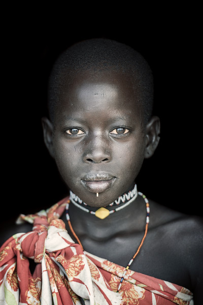 Beauty in a Topossa girl