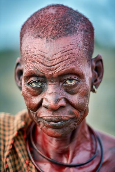 Mundari elder woman