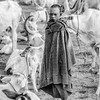 Mundari boy in cattle camp