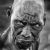 Blind Mundari elder
